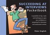 Boek cover Succeeding at Interviews Pocketbook van Peter English