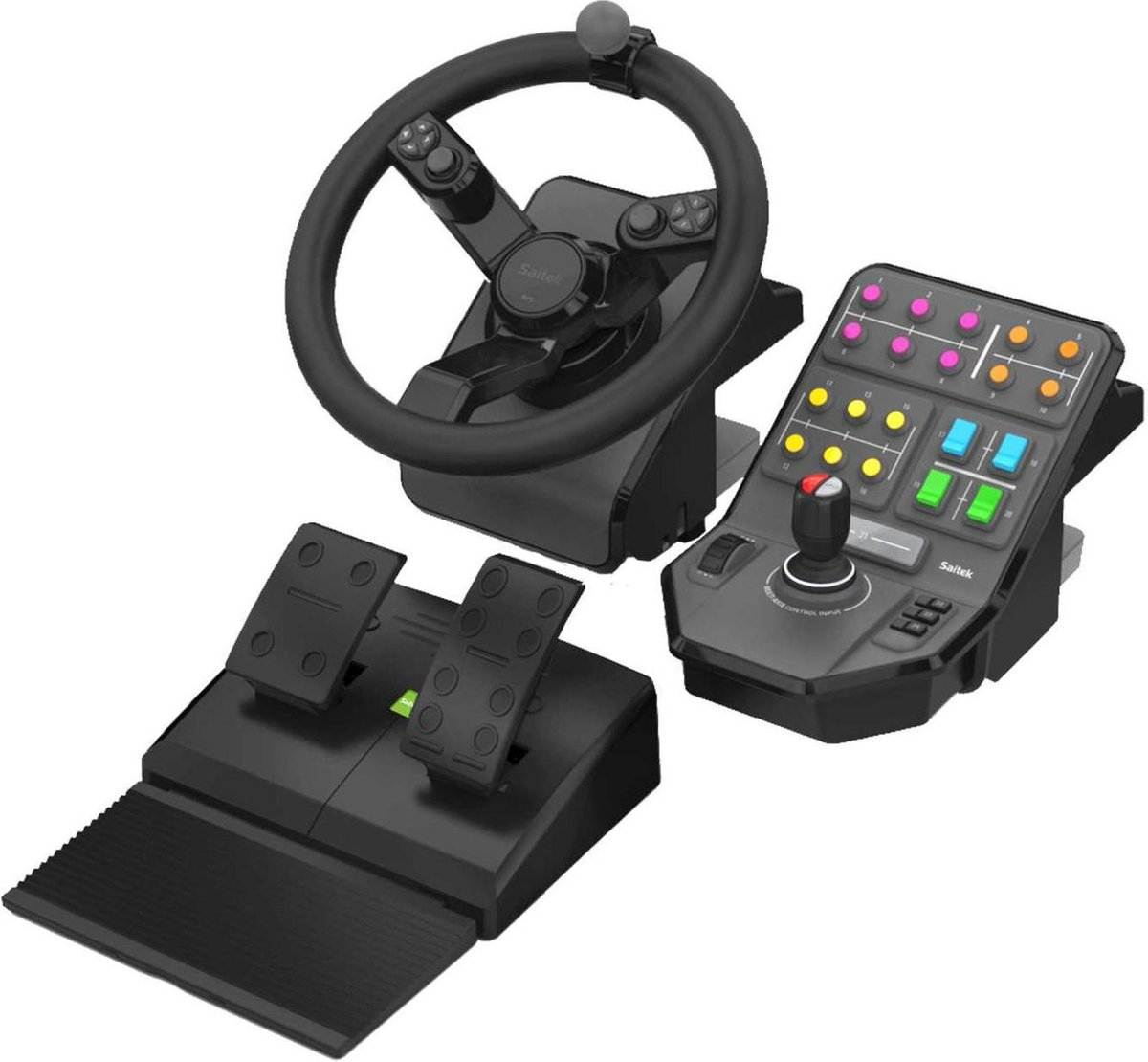 Logitech G Saitek Heavy Equipment bundel - Farming Simulator controller