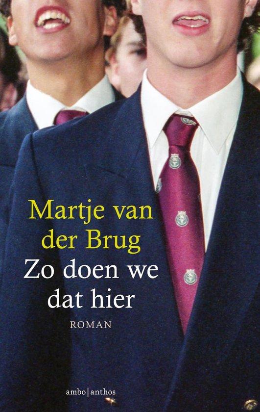 Zo doen we dat hier - Martje van der Brug |