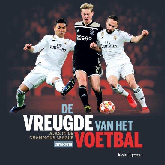 Boek cover De vreugde van het voetbal van Jaap Visser (Hardcover)