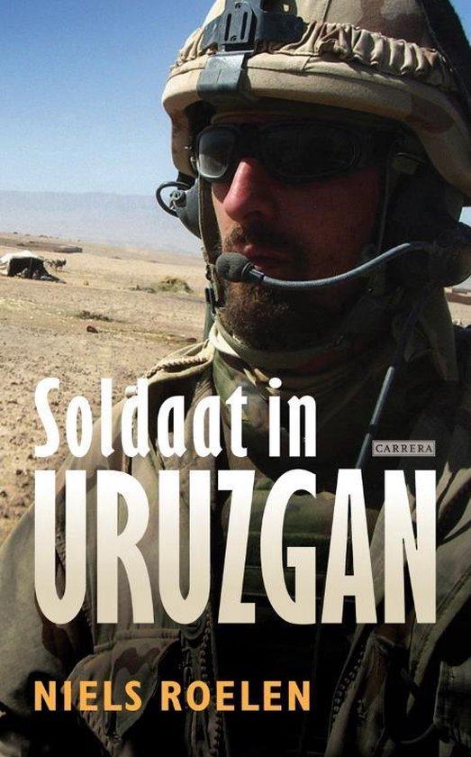 Boek cover Soldaat in Uruzgan van Niels Roelen