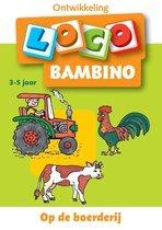 Boek cover Bambino Loco Op de boerderij 3-5 jaar van Diverse auteurs