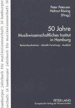 50 Jahre Musikwissenschaftliches Institut in Hamburg