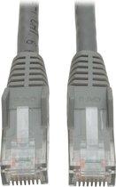 Tripp Lite N201-010-GY netwerkkabel 3,05 m Cat6 U/UTP (UTP) Grijs