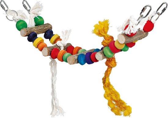 Speelhanger Brug - Vogelspeelgoed - 11 x 40 x 44 cm