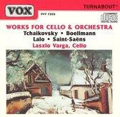 Tchaikovsky, Boellmann, Lalo, Saint-Saens: Works for Cello & Orchestra