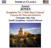 S.Jones: Symph. 3/Tuba Cto.