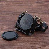 GoPro Hero Tasje Leer voor jouw  Hero Camera 5 & 6 Zwart + Gratis 52mm UV filter & cap