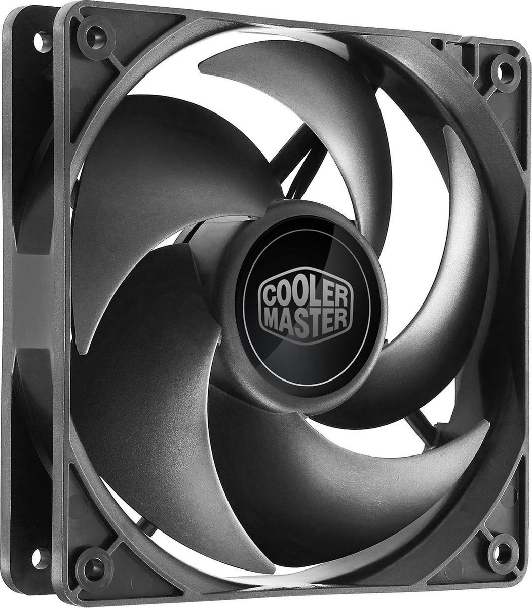 Cooler Master Silencio FP 120 Computer behuizing Ventilator 12 cm Zwart