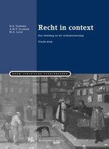 Boek cover Recht in context van H.S. Taekema (Paperback)