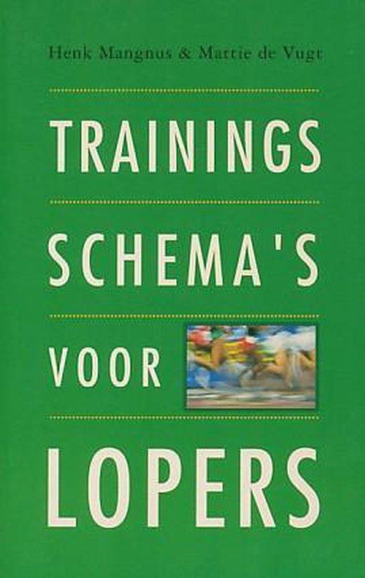 Trainingsschema's voor lopers - Auteur Onbekend  