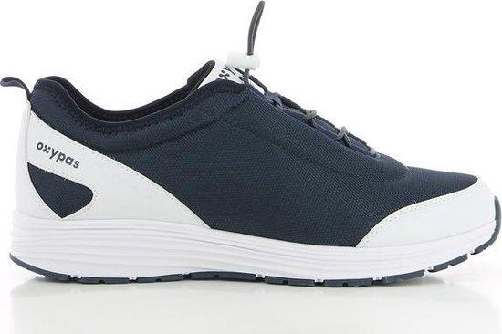 OXYPAS JAMES : Ultracomfortabele sneaker voor heren met antislipzool - Maat 43