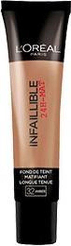 L'Oréal Paris Infallible 32 Amber foundationmake-up Koker Vloeistof
