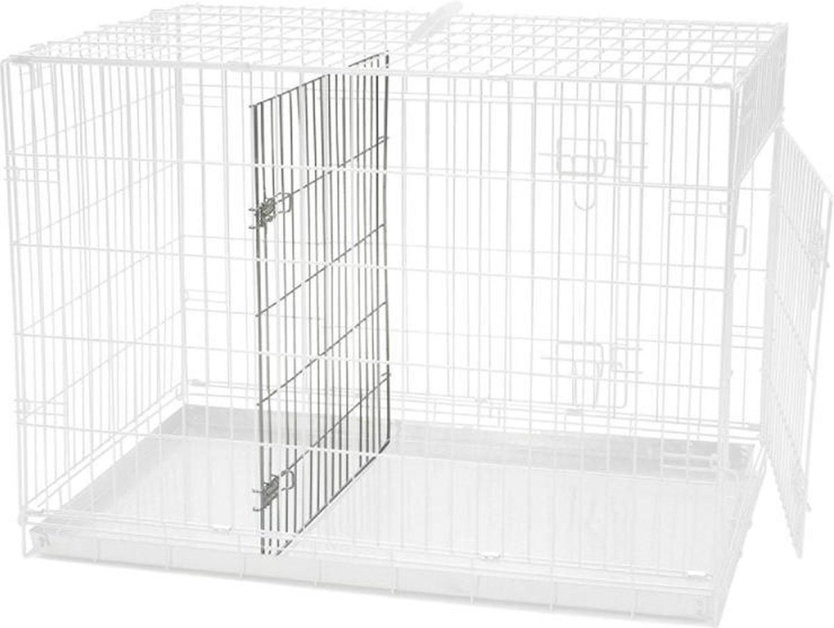 Beeztees Hondenbench Scheidingspaneel - Grijs - S - 78 x 55 x 61 cm - Beeztees