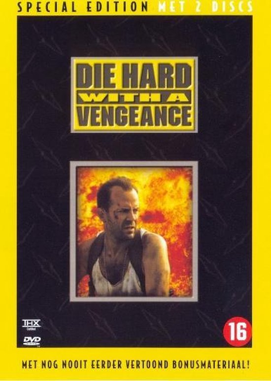 Cover van de film 'Die Hard 3 -  With A Vengeance'