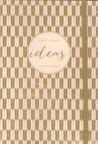 Modern Gold Ideas Gilded Journal
