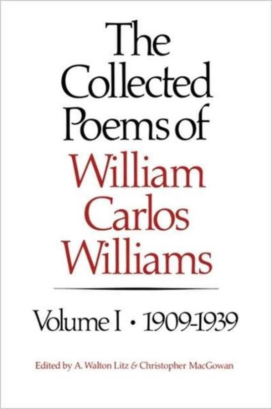 Boek cover The Collected Poems of William Carlos Williams van William Carlos Williams (Hardcover)