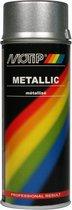 Motip Metallic Lak Zilver - 400 ml
