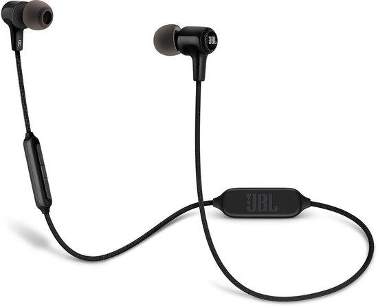 Afbeelding van JBL E25BT Zwart - Draadloze Bluetooth In-ear oordopjes