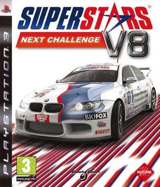 Superstars Next Challenge V8 - Black Bean Games