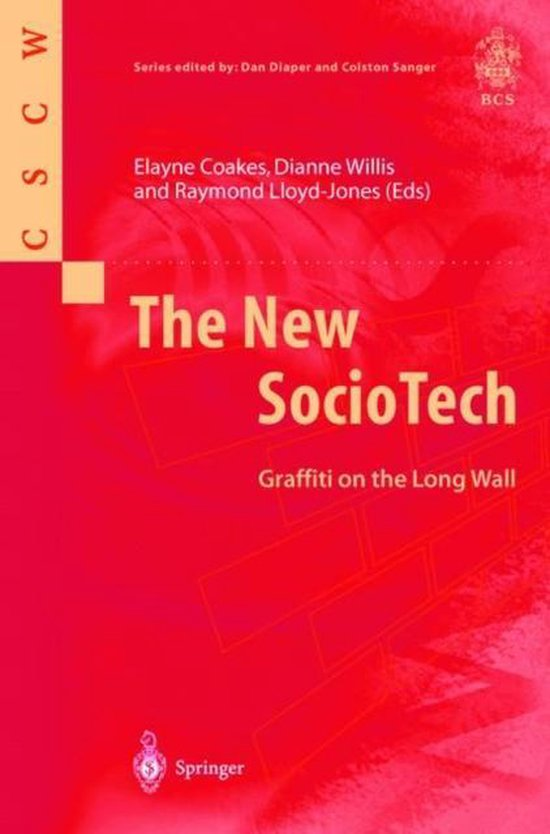 Boek cover The New SocioTech van Elayne Coakes (Paperback)
