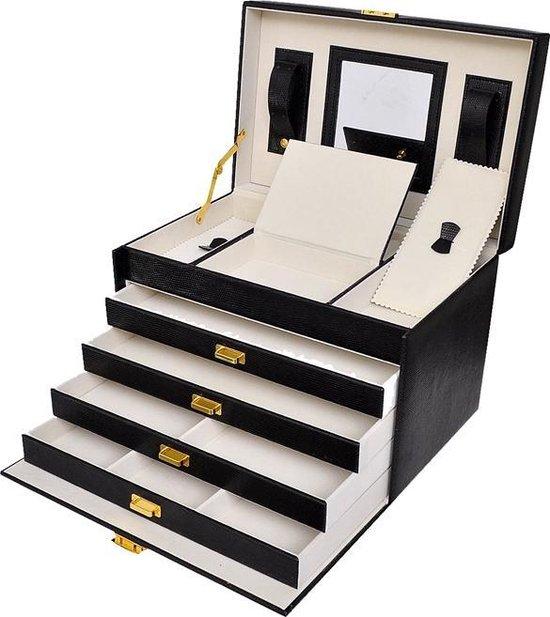 - Luxe Sieradenbox met spiegel