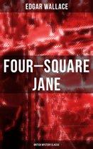 Boekomslag van 'Four-Square Jane (British Mystery Classic)'