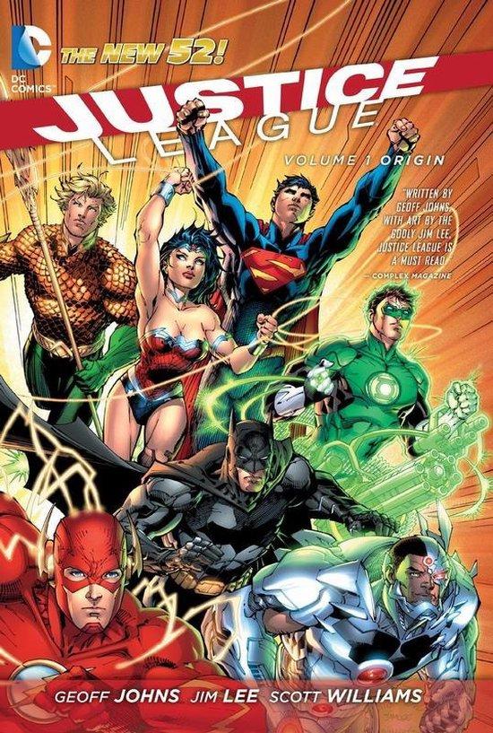 Justice league hc01. het begint (new 52) - GEOFF. Johns, |