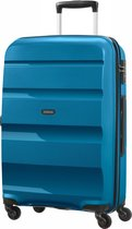 Bol.com-American Tourister Bon Air Spinner Spinner Reiskoffer (Medium) - 575 liter - Seaport Blue-aanbieding