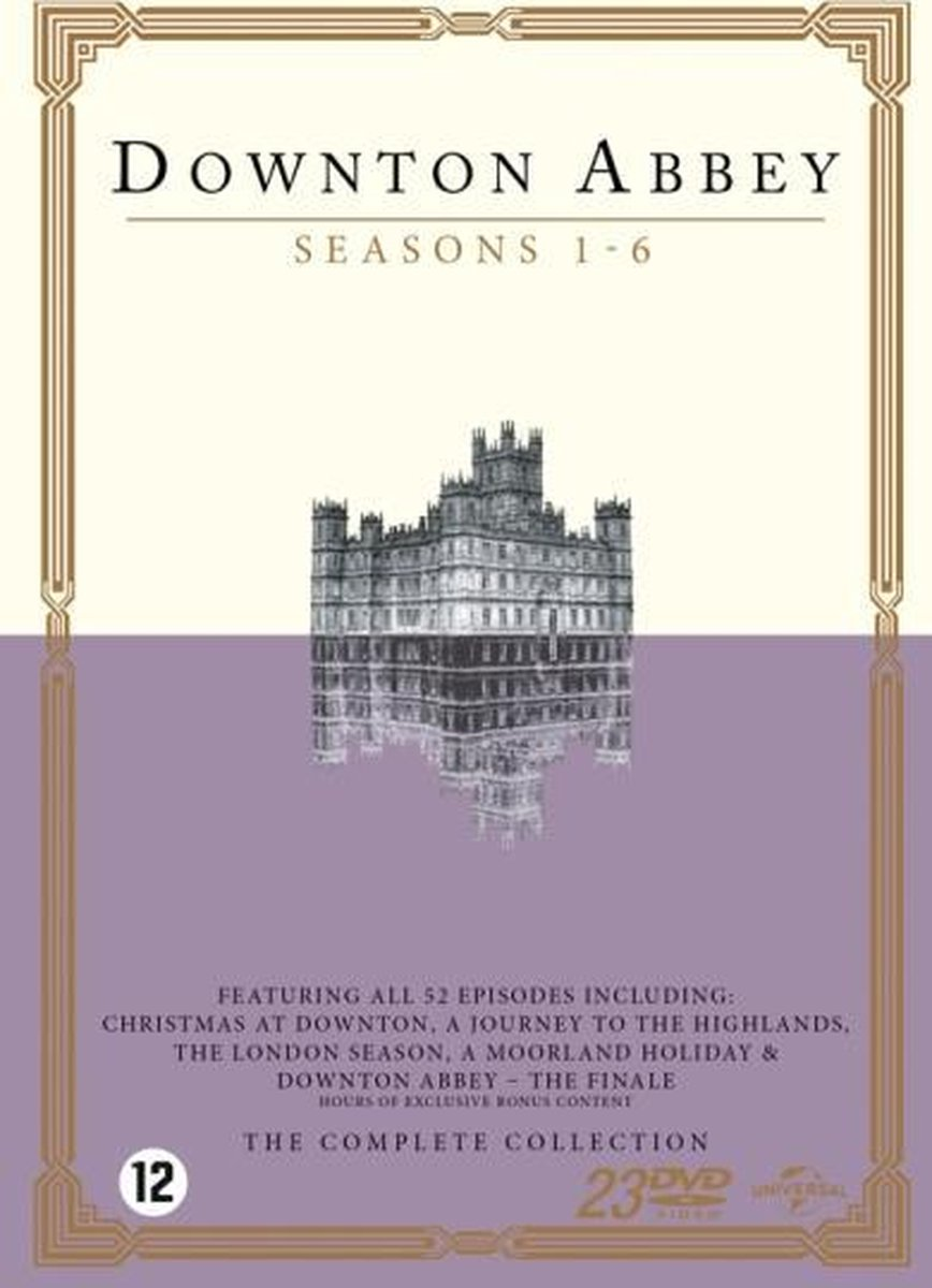 Downton Abbey - Complete Collection - Maggie Smith