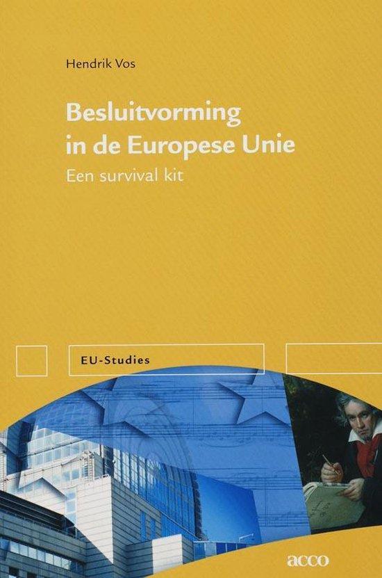 Besluitvorming In De Europese Unie - Hendrik Vos   Fthsonline.com