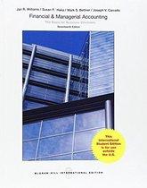 Boek cover Financial & Managerial Accounting van Jan R. Williams (Paperback)