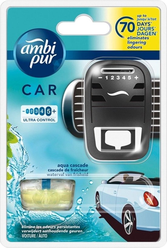 Ambi Pur Luchtverfrisser Aqua Zwart
