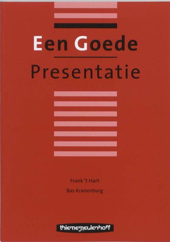 Een goede presentatie - Frank 't Hart   Fthsonline.com