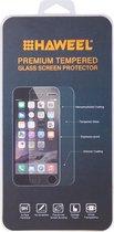 Let op type!! 2 stuks voor iPhone 6 0 26 mm 9H oppervlakte hardheid 2.5D explosieveilige terug getemperd glas Film