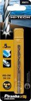 Piranha HI-TECH metaalboor 5mm X50711
