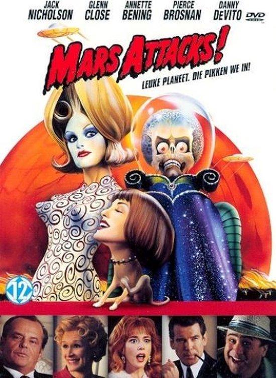 Cover van de film 'Mars Attacks!'