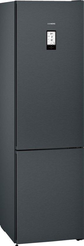 Koelkast: Siemens KG39FPB45 iQ700 - Koelvriescombinatie - Zwart Inox, van het merk Siemens