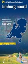 Limburg noord anwb topografische kaart