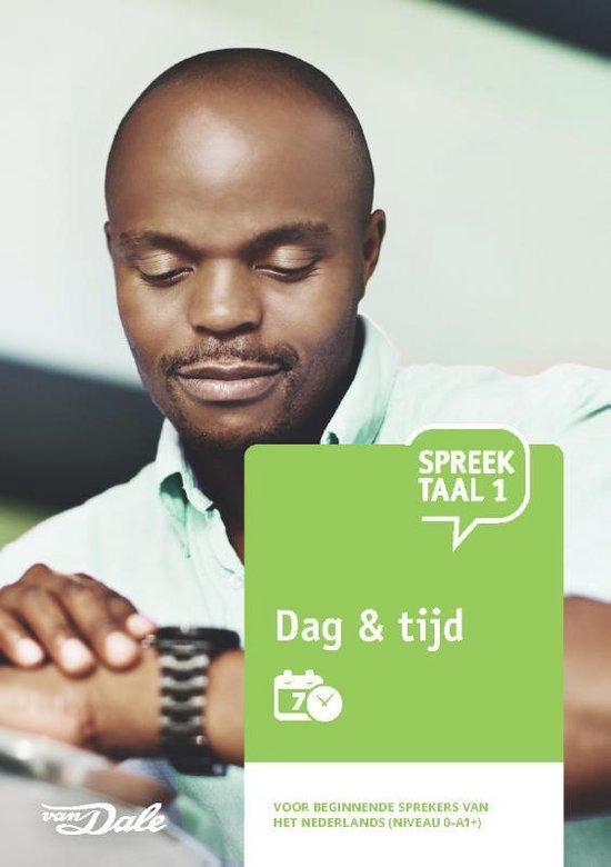 Boek cover SpreekTaal 1 Dag & tijd van Martijn Baalman (Paperback)