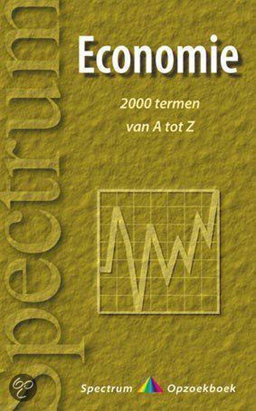 Boek cover Economie Van A Tot Z van R. Schondorff (Onbekend)