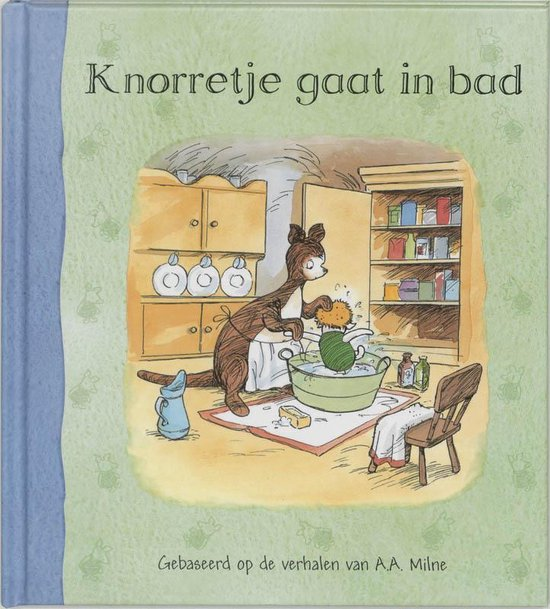 Knorretje Gaat In Bad