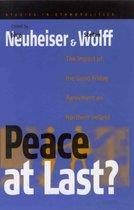 Peace At Last?