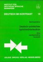 Deutsch-polnisches Sprichwörterlexikon