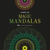 Scratch art Magic Mandalas