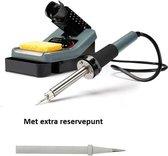 Instelbaar Soldeerstation VTSS7 48 W - 160-480 °C met extra reservepunt