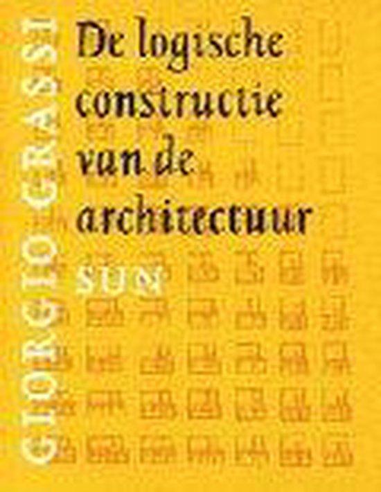 Cover van het boek 'De logische constructie van de architectuur' van Giorgio Grassi
