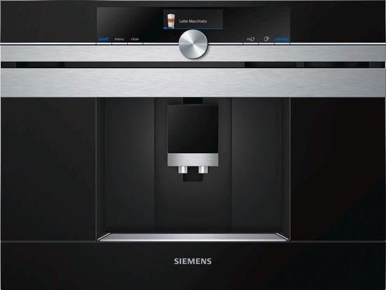 Siemens CT636LES1 iQ700 - Inbouw espressomachine - Zwart