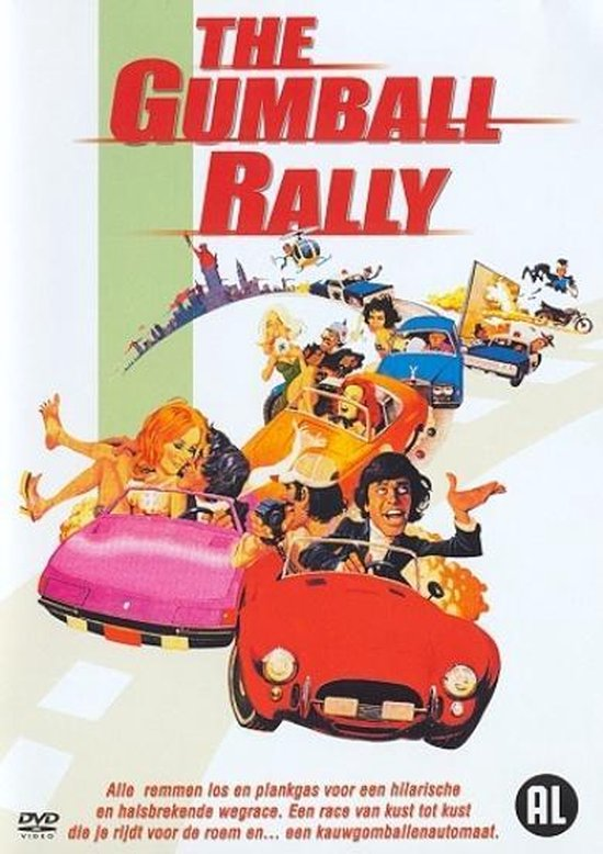 Cover van de film 'Gumball Rally'