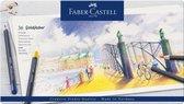 Kleurpotlood Faber-Castell Goldfaber etui � 36 stuks